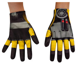 Bumblebee Transformer Child Gloves