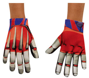 Optimus Prime Transformer Child Gloves