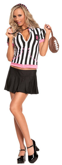 Sexy Sideline Sweetheart Referee Costume
