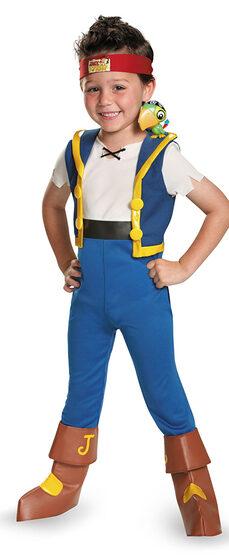 Jake Light Up Disney Pirate Kids Costume