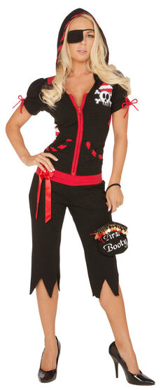 Womens Snatch the Booty Pirate Adult Costume