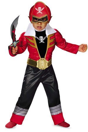 Red Ranger Light Up Toddler Kids Costume