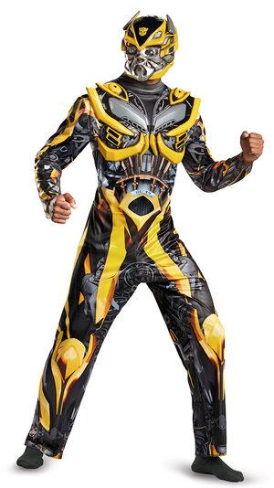 Transformers Deluxe Bumblebee Adult Costume