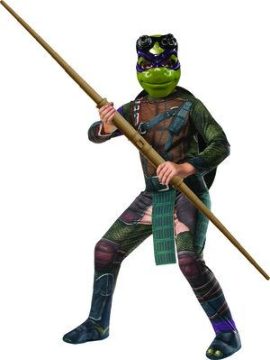Ninja Turtle Donatello Kids Costume