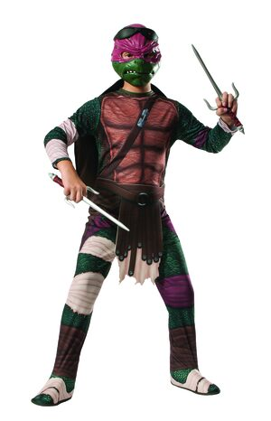 Ninja Turtle Raphael Kids Costume