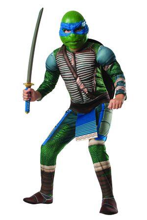 Deluxe Leonardo Ninja Turtle Kids Costume