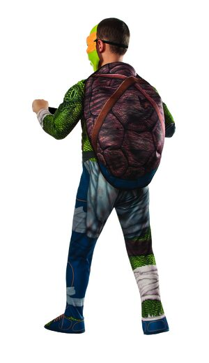 Deluxe Michelangelo Ninja Turtle Kids Costume