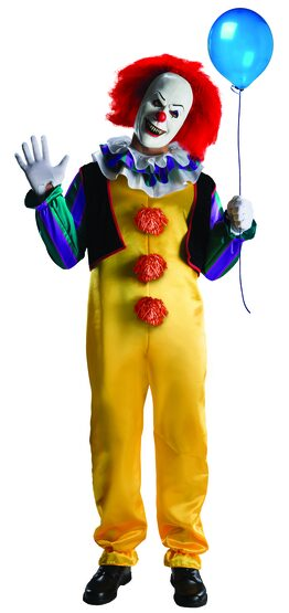Pennywise Scary Clown Adult Costume