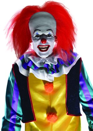 Pennywise Scary Clown Wig
