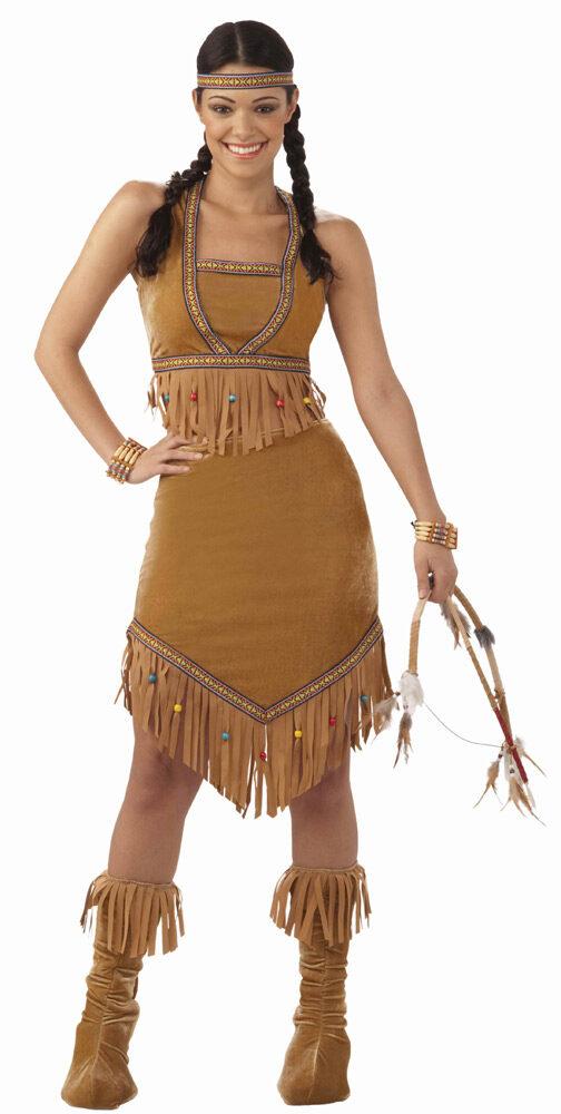 Native Indian Princess Adult Costume  sc 1 st  Mr. Costumes & Native Indian Princess Adult Costume - Mr. Costumes