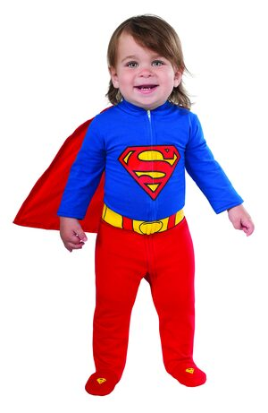 Superman Onesie Baby Costume