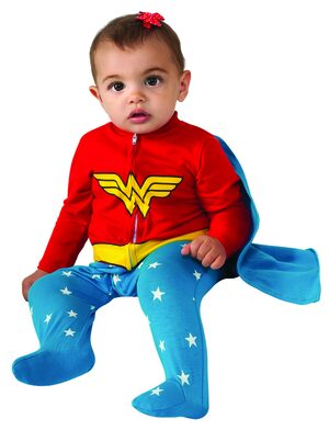 Wonder Woman Superhero Onesie Baby Costume