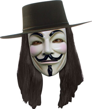 V For Vendetta Adult Wig