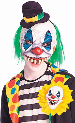 Mens Evil Clown Adult Costume