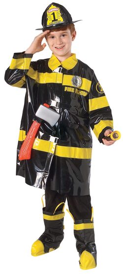 Fearless Firefighter Kids Costume