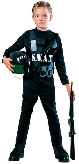 S.W.A.T. Team Cop Kids Costume
