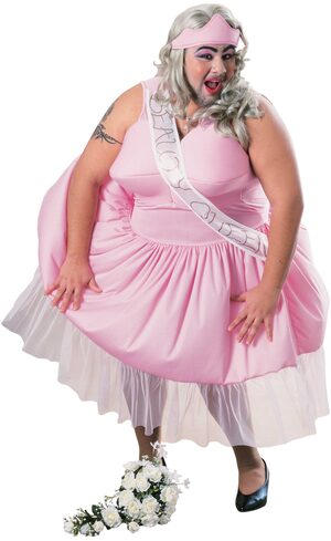 Funny Beauty Queen Adult Costume