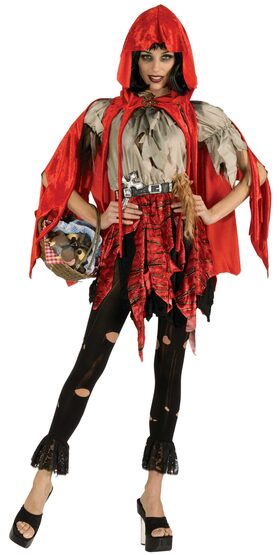 Little Dead Riding Hood Adult Costume