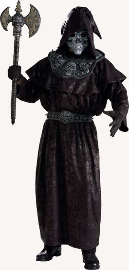 Grand Heritage Warlock Scary Adult Costume
