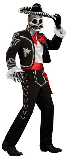 Grand Heritage El Senor Skeleton Adult Costume