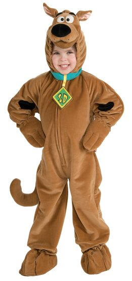 Deluxe Scooby Doo Kids Costume