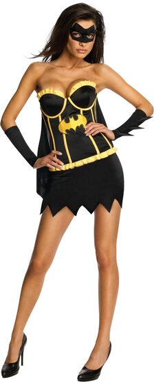 Sexy Justice League Batgirl Costume