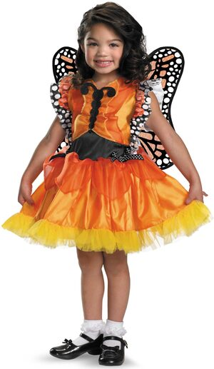 Magic Monarch Butterfly Kids Costume