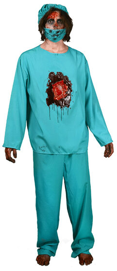 Scary Eat Your Eye Out Doctor Adult Costume