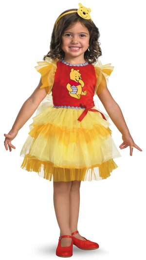 Frilly Winnie The Pooh Kids Costume