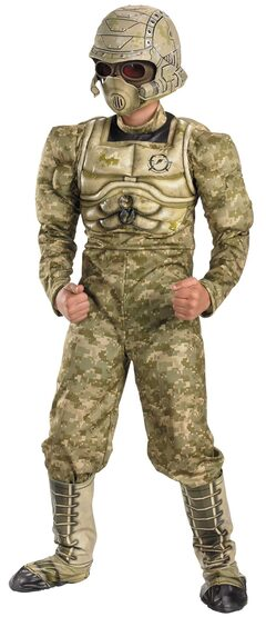 Desert Commando Army Kids Costume