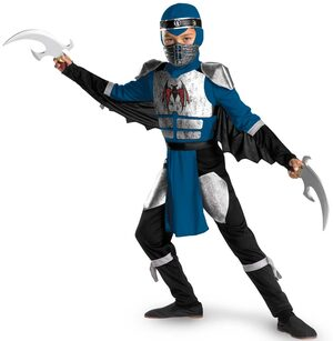 Night Shadow Ninja Kids Costume