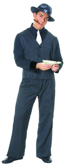 Mens Mafia Gangster Adult Costume