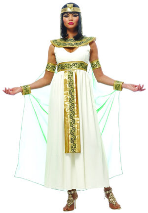 Golden Cleopatra Egyptian Adult Costume