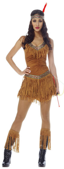 Sexy Native American Indian Maiden Costume