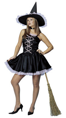 Womens Sweet Witch Adult Costume