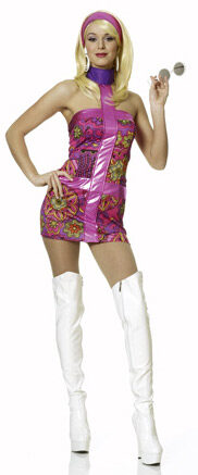 Sexy Go-Go Girl 60s Costume