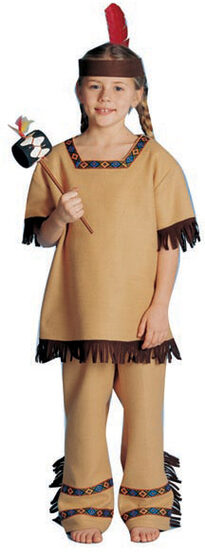 Unisex Indian Brave Kids Costume