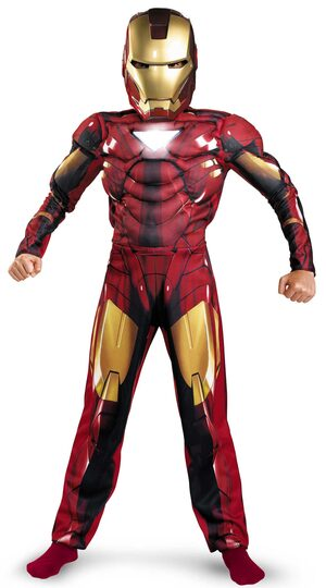 Mark VI Iron Man Kids Costume