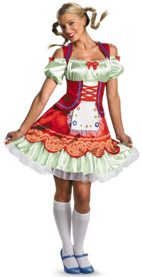 German Oktoberfest Girl Adult Costume