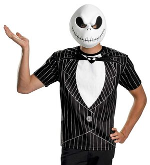 Jack Skellington Scary Adult Costume