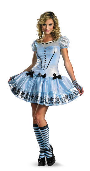 Sexy Sassy Alice In Wonderland Costume