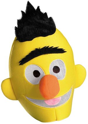 Sesame Street Bert Headpiece Mask