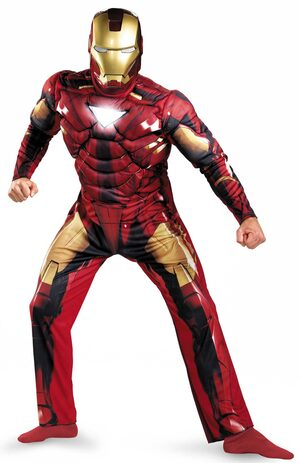 Mark VI Iron Man Adult Costume