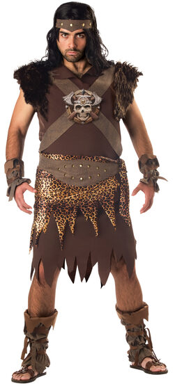 Mens Caveman Plus Size Costume