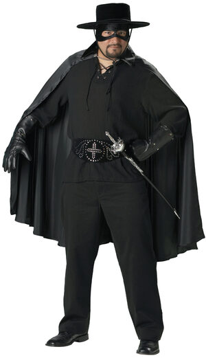 Mens Bandido Spanish Plus Size Costume