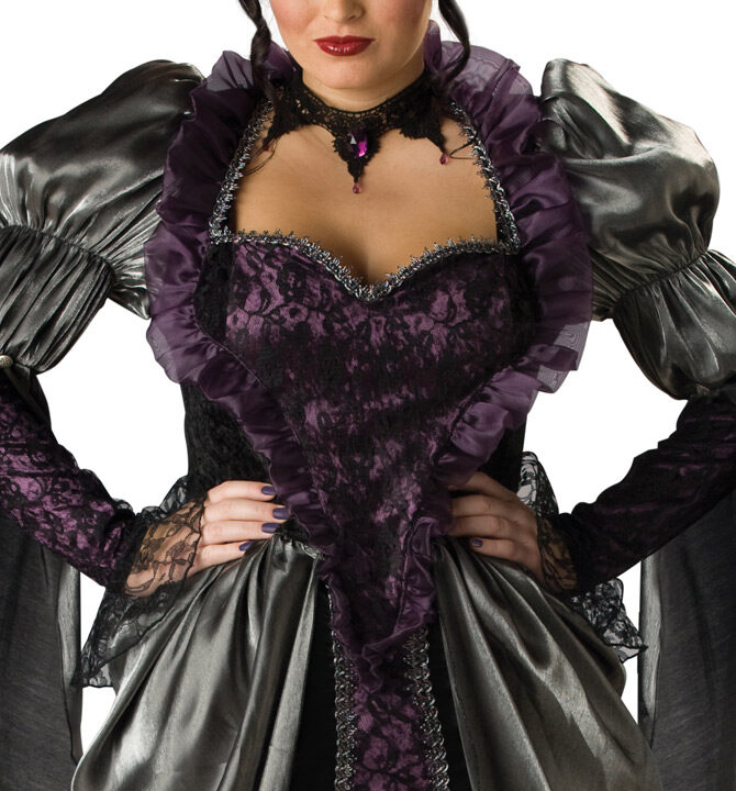 Womens Wicked Queen Plus Size Costume & Womens Wicked Queen Plus Size Costume - Mr. Costumes
