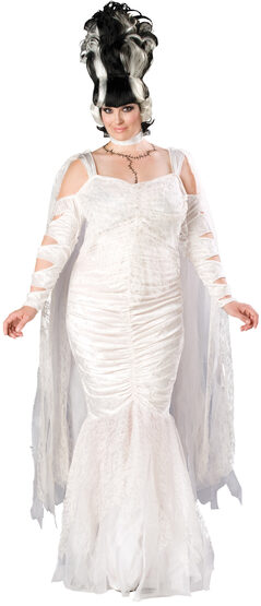 Womens Monster Bride Plus Size Costume