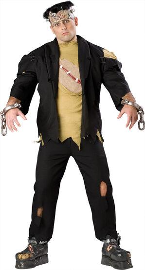Mens Frankenstein Monster Plus Size Costume