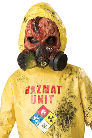 HazMat Suits Get full-body coverage when working with chemicals and contaminants by wearing a hazmat suit. We carry popular brands and styles like Dupont Tyvek suits, Kimberly Clark and Onguard.
