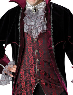 Vampire of Versailles Gothic Adult Costume